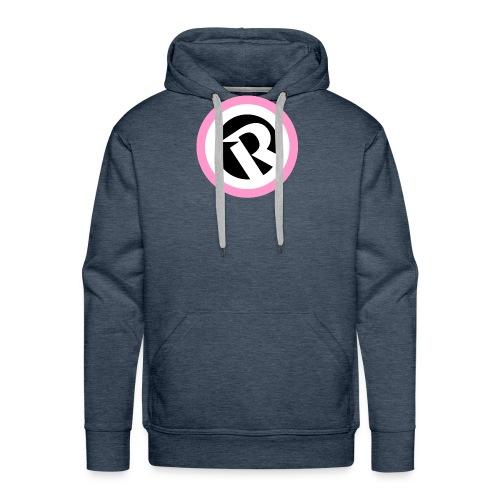 Logo Reborn Spoilers Pink 2020 - Men's Premium Hoodie