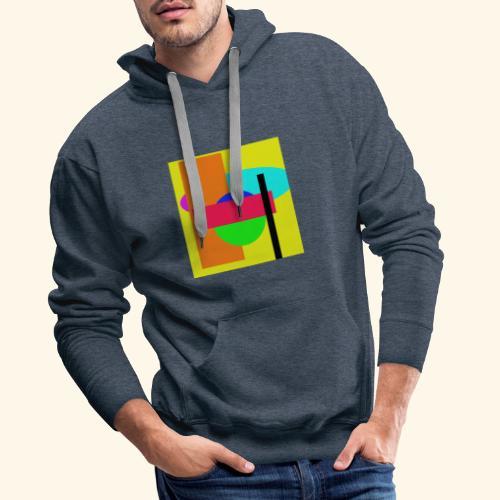 Pop-art71 - Felpa con cappuccio premium da uomo
