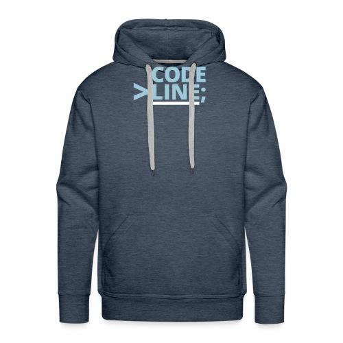 CodeLine - Männer Premium Hoodie