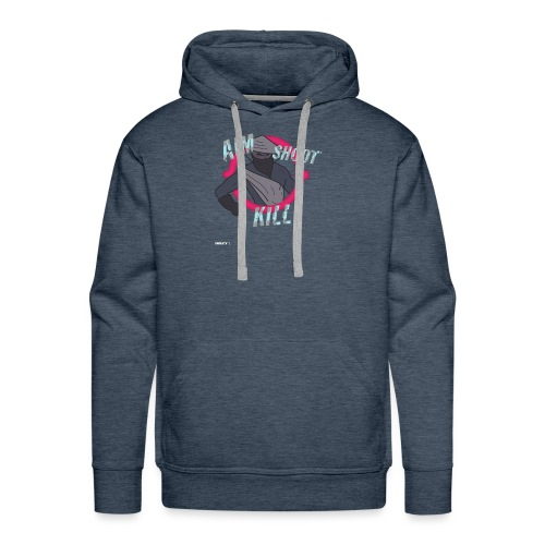 Battle Royale Chicken Dinner Shooter Geschenk - Männer Premium Hoodie