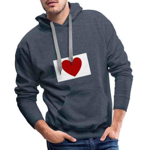 LeonyStella | Heart the world! - Männer Premium Hoodie