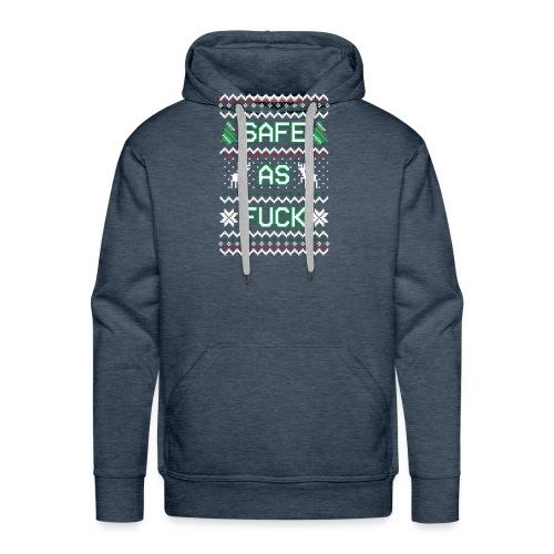 Christmas Jumper Safe AF - Men's Premium Hoodie