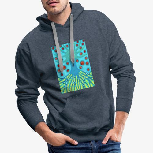 Drzewo I Planety - Bluza męska Premium z kapturem