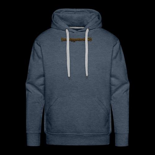 Cool Text funnygamesNL 276368389500691 - Mannen Premium hoodie