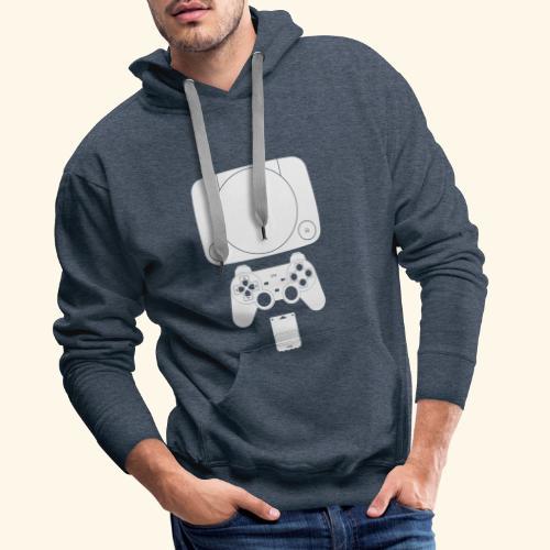 PS ONE Classic Console Design - Men's Premium Hoodie