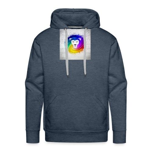 l - Herre Premium hættetrøje