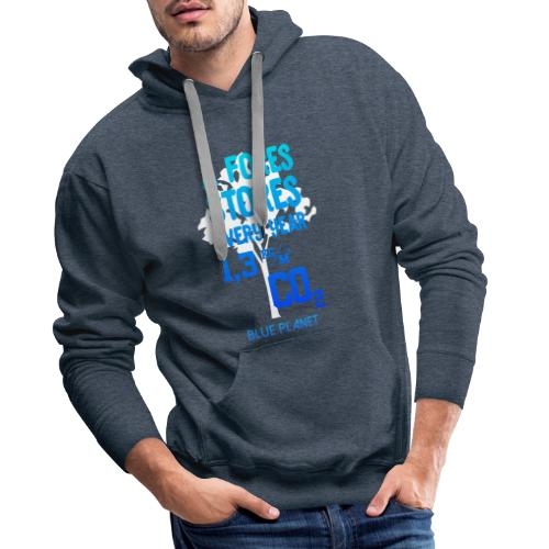 a Fores Stores every Year. I Love the Blue Planet - Männer Premium Hoodie