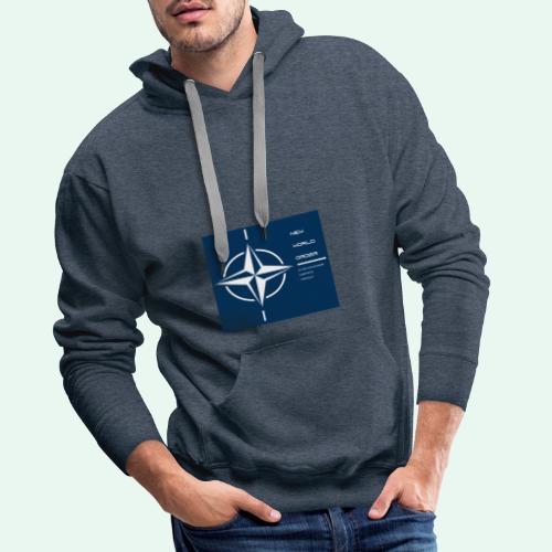 vagnacht nat - Mannen Premium hoodie