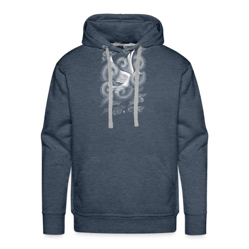 Crossing Clouds - Men's Premium Hoodie