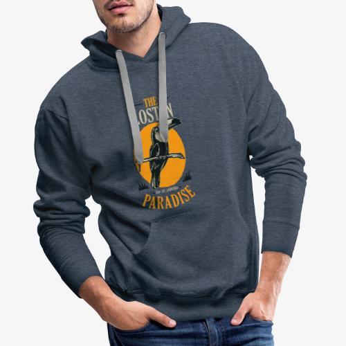 Oiseau - Sweat-shirt à capuche Premium pour hommes