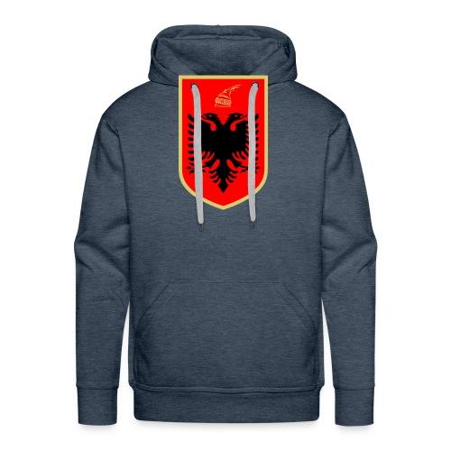 Coat of arms of Albanien - Männer Premium Hoodie
