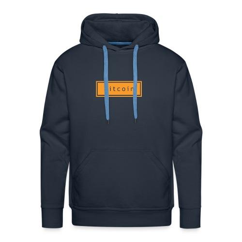 bitcoin basic - Mannen Premium hoodie