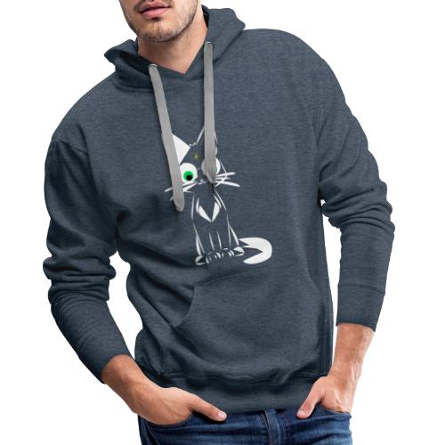 harry meowtter - Sweat-shirt à capuche Premium pour hommes