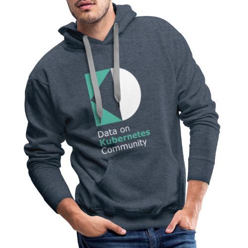 logoDockOK - Sudadera con capucha premium para hombre