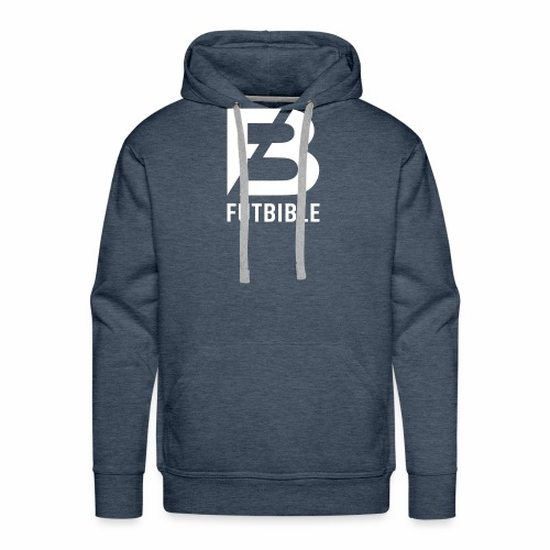 FUTBIBLE LOGO - Premium hettegenser for menn