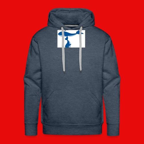 whale t - Men's Premium Hoodie