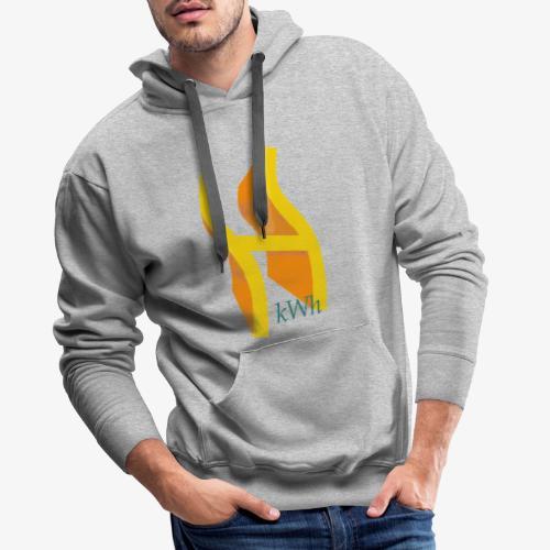 Wasserstoff - Männer Premium Hoodie