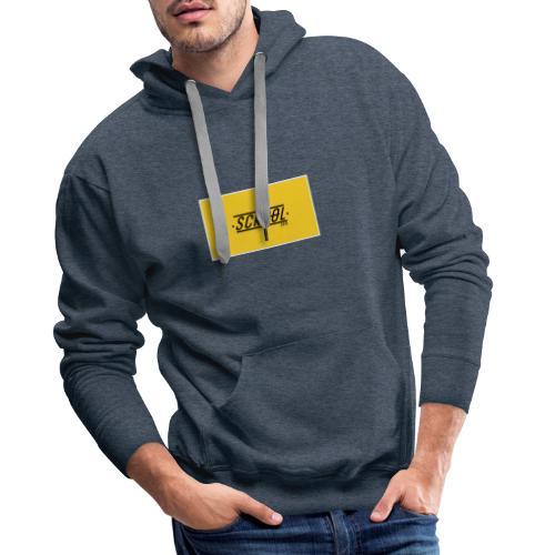 Scrool - Sweat-shirt à capuche Premium pour hommes