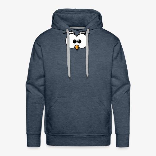 owl - Felpa con cappuccio premium da uomo