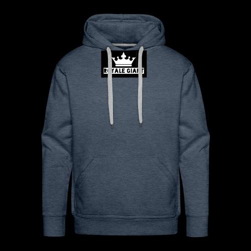 T-shirt Royale Giant - Mannen Premium hoodie