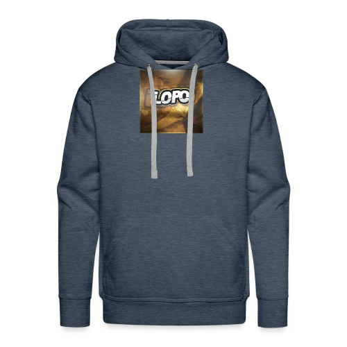 LoPo - Sweat-shirt à capuche Premium pour hommes