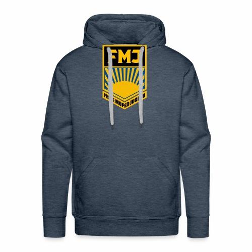 Freie Moped Jugend FDJ Parodie - Men's Premium Hoodie