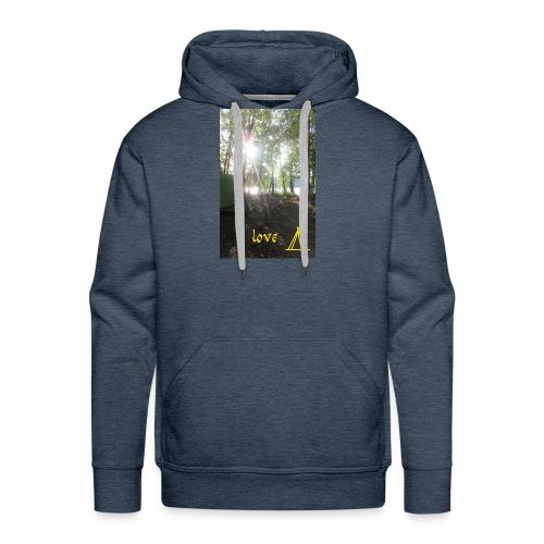 camping - Mannen Premium hoodie