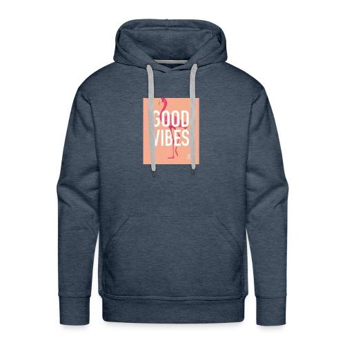 good vibes -Lottie cam - Men's Premium Hoodie