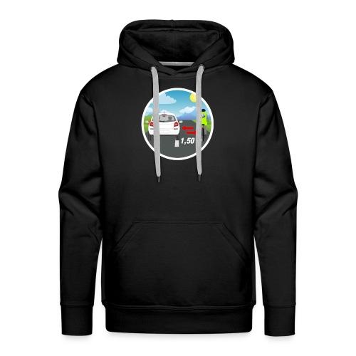 PANNEAU VELO 1M50 - Sweat-shirt à capuche Premium pour hommes
