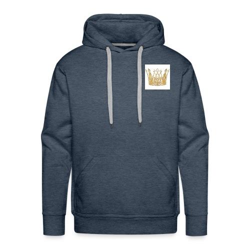 kingsammytvs crown - Men's Premium Hoodie