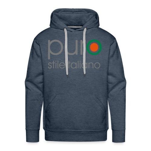 puro stile italiano - Felpa con cappuccio premium da uomo