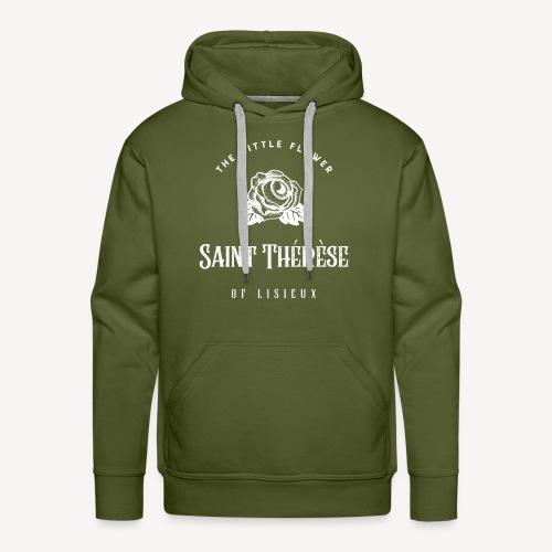 Saint Thérèse of Lisieux - Men's Premium Hoodie