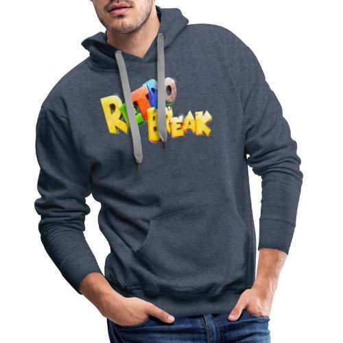 RetroBreak Logo - Men's Premium Hoodie
