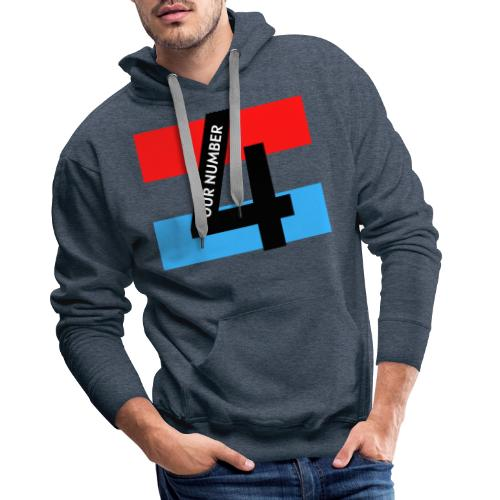 Our Number 4 Collection from The Trippers - Men's Premium Hoodie