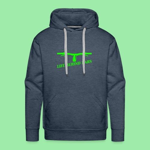 life behind bars2 - Mannen Premium hoodie