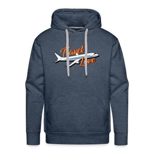 Travel love Air - Sudadera con capucha premium para hombre