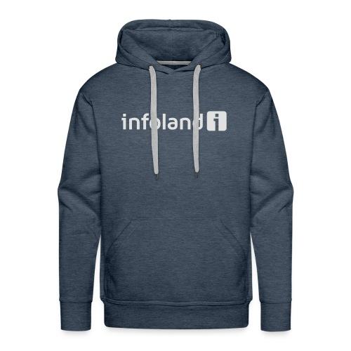 Infoland Logo - Mannen Premium hoodie