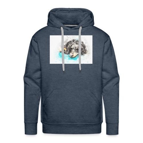 Hund Dog stevanka - Männer Premium Hoodie
