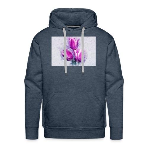 stevanka flowers tulpen - Männer Premium Hoodie
