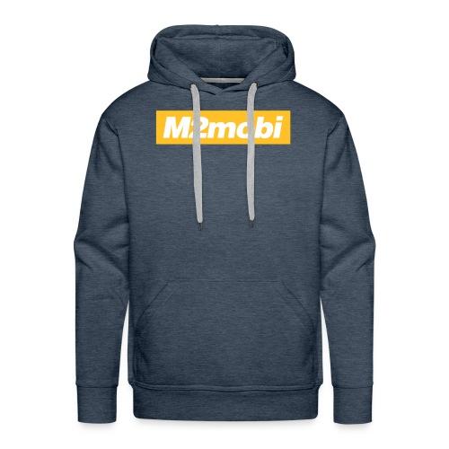 M2mobi oblique 02 - Mannen Premium hoodie