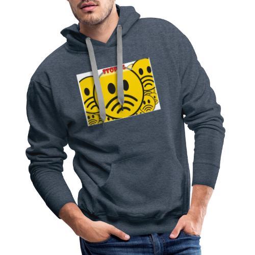 Stop ✋ T-shirt - Männer Premium Hoodie