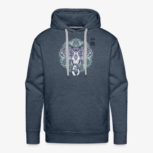 Blue Elephant - Sudadera con capucha premium para hombre