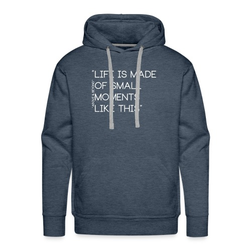 LIFEWHITE - Herre Premium hættetrøje