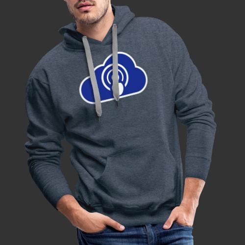 podCloud - Logo 2020 - Sweat-shirt à capuche Premium pour hommes