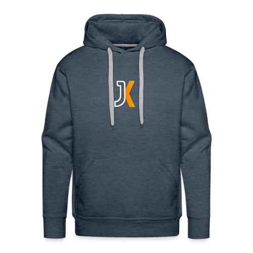 Logo JaKKzy - Felpa con cappuccio premium da uomo