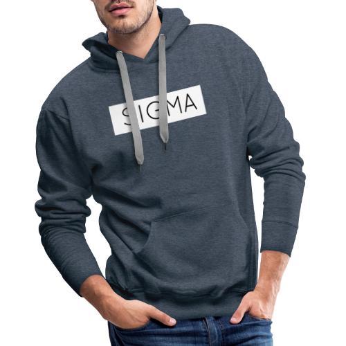 SIGMA - Men's Premium Hoodie