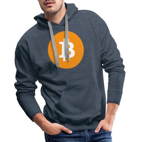 Bitcoin Merch - Herre Premium hættetrøje