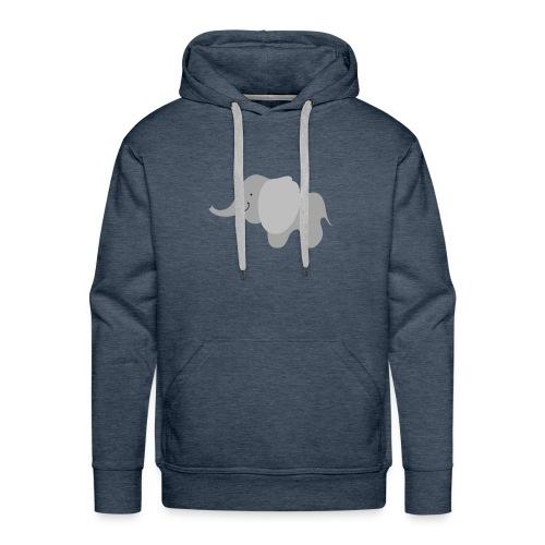 Kinder Comic - Elefant - Männer Premium Hoodie