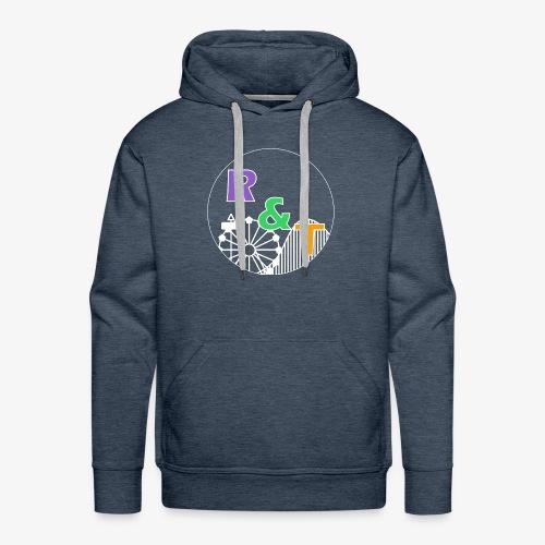 *Limited Edition* Robin & Thomas Merch Wit - Mannen Premium hoodie