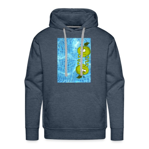 angry appel - Mannen Premium hoodie